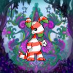Delightful Flower Throne Background