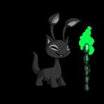 Dark Sorceress Staff