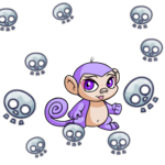 Petpet Cannonball Skull Shower