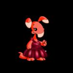 Berry Red Velvet Gown