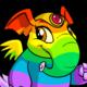 Rainbow Elephante