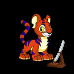 Shenkuu Kougra Warrior Sword