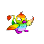 rainbow pteri