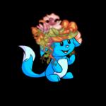 Delicate Floral Wig