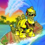 Wave Surfer Background