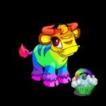 Rainbow Cupcake Purse