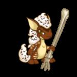 Bone Walking Staff