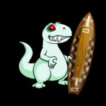 Tiki Surfboard