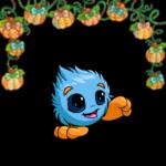 Fabric Pumpkins Garland