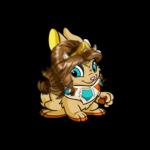 Cybunny Ocean Warrior Wig