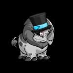 Blue Tonu Tuxedo Hat