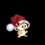 Oversized Baby Santa Hat