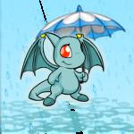 Dyeworks Blue: Rainy Day Umbrella