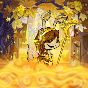 Yellow Faerie (for a customization game on NC Mall Chat)