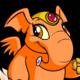 Orange Elephante