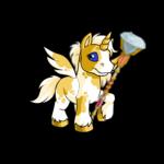Sparkling Diamond Staff
