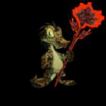 Dark Glowing Lilies