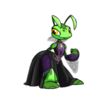 Dark Damsel Ruki Gown