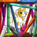 Inescapable Cage of Crayons