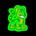 glowing kougra