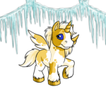 MME8-S2:Shimmering Icicle Garland