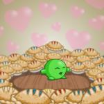 I Love Pie Background