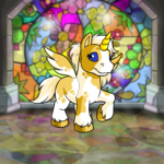 Stained Glass Flower Background