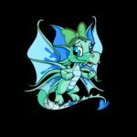 Dyeworks Green: Pastel Blue Hair Bow