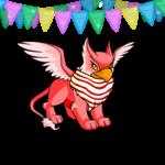 Birthday Glitter Pennant Garland