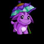 Purple Petals Parasol