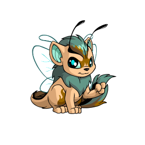 Gold Paint Brush Neopets