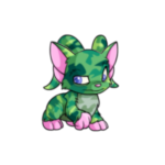camouflage acara