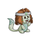 Kacheek Mage Wig and Crown