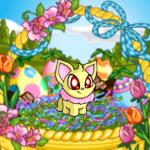 Festive Basket Background