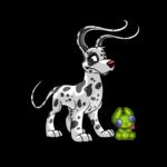 Handheld Green Spardel Plushie