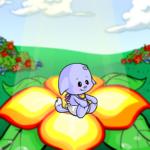 Giant Flower Background