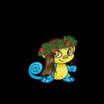Christmas Garland Wig