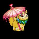 Delicate Pink Valentine Parasol