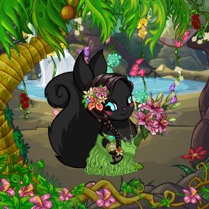 Jungle Flower Princess