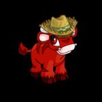 Kau Farmer Hat and Wig
