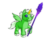 Purple Crystal Shard Staff