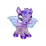 Purple Ixi Rain Coat