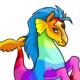 Rainbow Peophin