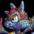 Sad Male Mosaic Scorchio