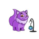 Violet Flower Lantern