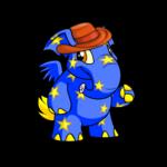 Orange Elephante Hat