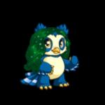 Dyeworks Green: Dazzling Midnight Wig