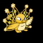 Golden Snowflake Wings