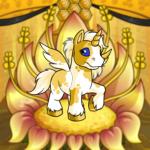 Flower Throne Background