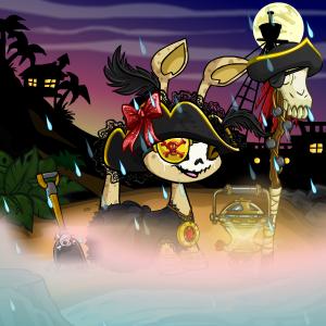 Krawk Island Pirate. Arrrrr!